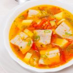 Sup Ikan Kakap Kuah Pedas