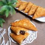 Roti Goreng Isi Coklat Crispy di Luar, Lembut di Dalam
