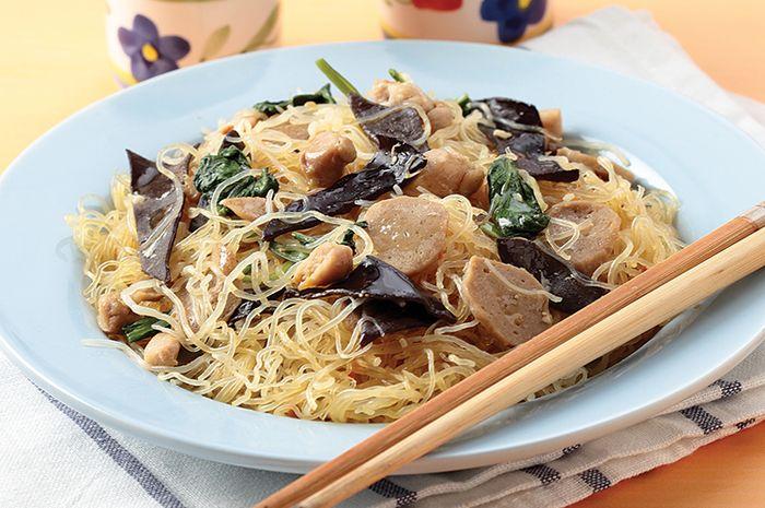Resep Bihun Goreng Jamur Minyak Goreng Sunco