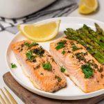 Resep Ikan Salmon Saus Lemon